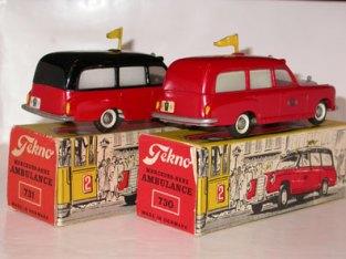 Ambulances Tekno A9 Copenhague (variantes fanions)