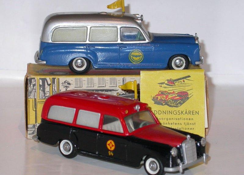 Ambulances Tekno variantes exportations