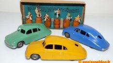 Tatra tatraplan ( variantes de couleur) la jaune est peu fréquente.