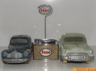 National Products et panneau Esso