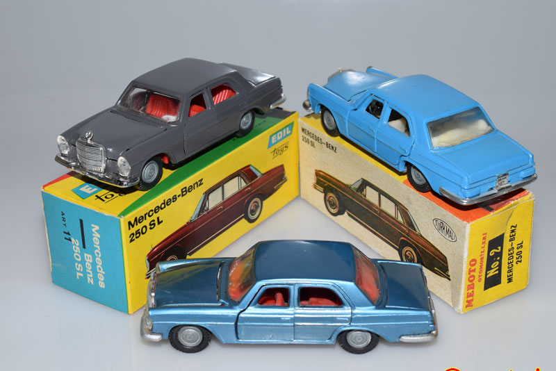 Mercedes Meboto et Edil Toys