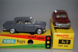 Edil Toys et Meboto Fiat 1500