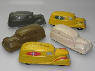 Modeles en rubber
