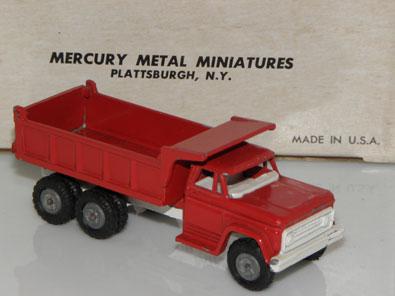 Mercury : Chevrolet benne basculante