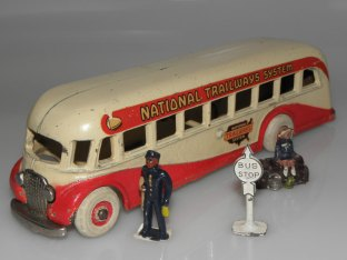 Arcade AFC car National Trailways