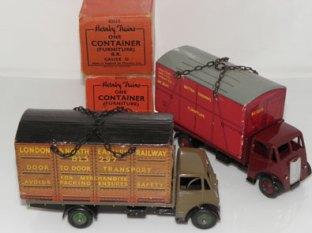 Le plateau du Guy a été étudié pour recevoir les containers Hornby