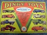 Couvercle coffret Dinky Toys série 25 ; avant-guerre