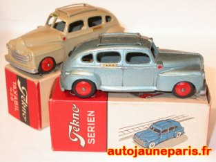 Tekno Ford taxi peu fréquentes couleurs