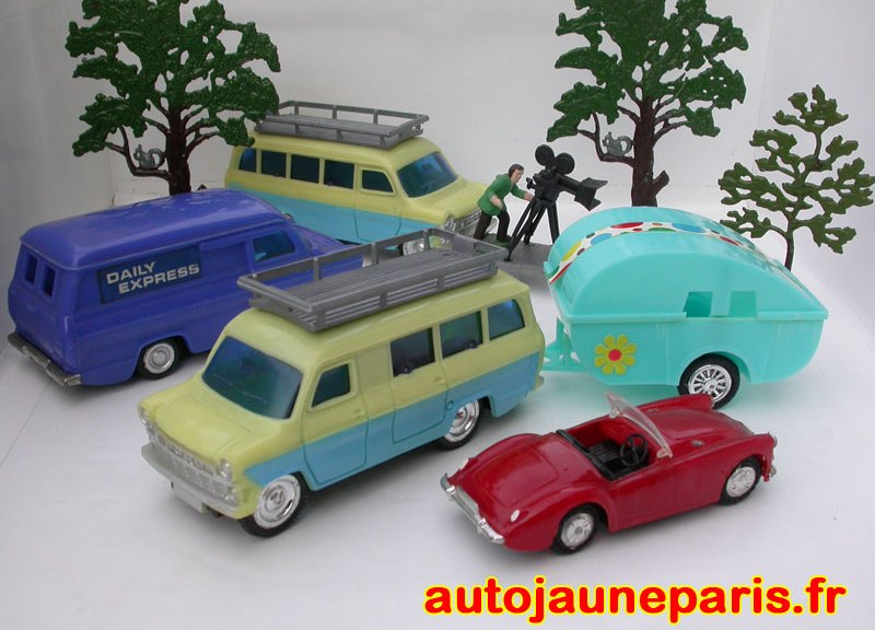 Packing Case (MG) , Lincoln (Ford Transit Daily) et TNS (autres Ford)