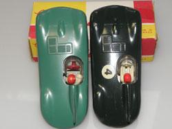 Jaguar type D Solido : variantes de pilotes