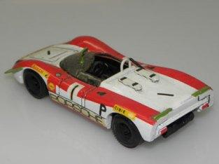 Modelisme Porsche 908 Nürburgring