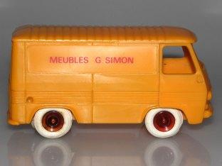 Bourbon Peugeot J7 fourgon Meubles