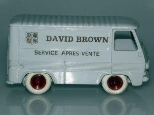Bourbon Peugeot J7 David Brown