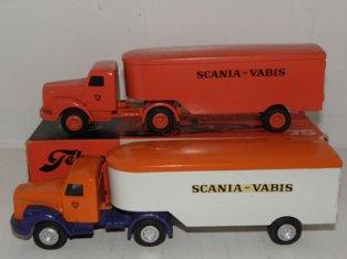 Tekno Scania 76 Scania Vabis variantes de couleur
