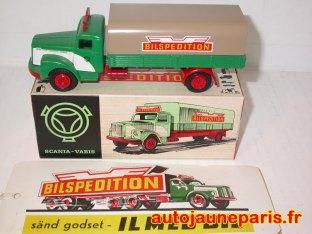Scania Vabis Bilspedition et l'étiquette