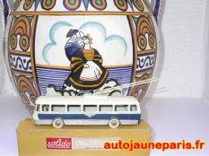 Trolleybus Solido et faïence de Georges Brisson