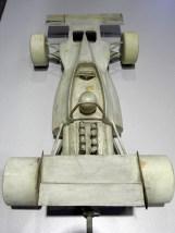 Maquette de soufflerie de la Tyrrell 001