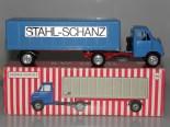 RW Hanomag semi remorque fourgon Stahl-Schanz