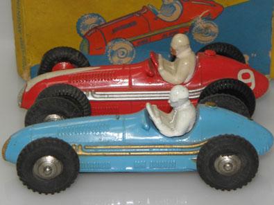 Anver Maserati et Dinky Toys Maserati