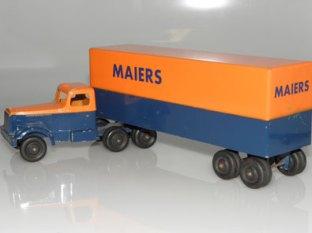 Ralstoy Autocar Semi-remorque fourgon Maiers
