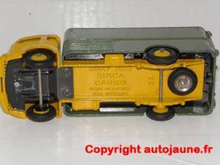 Simca Cargo couleur inversée