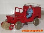 Jeep balayeuse Polichinelle