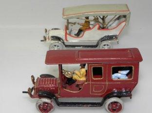 Ernst Plank limousine et double phaeton