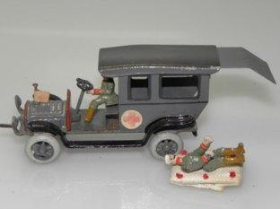 Camion ambulance militaire Ernst Plank