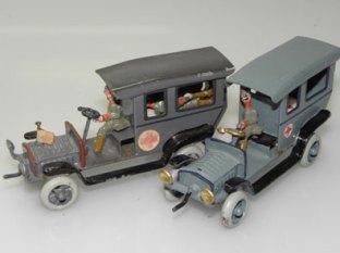 Camions ambulance militaire Ernst Plank