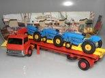 Matcbox Ford semi remorque porte tracteurs