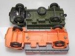 Bedford auto-école Gamda et la version militaire Dinka Toys