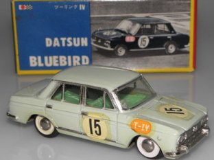 Datsun Bluebird au Grand Prix du Japon