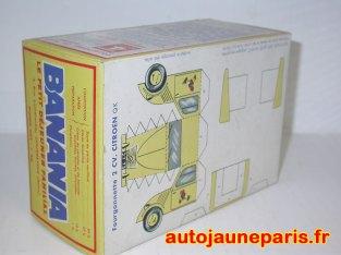 Planche à découper Banania: Citroën 2cv
