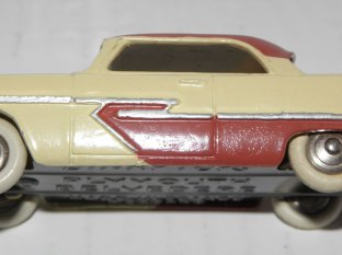 Plymouth Belvedere Dinky Toys: pavillon lisse