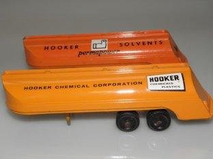 variantes sur la publicité Hooker