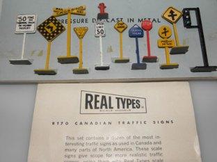 Real Types: panneaux canadien
