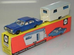 Siku coffret avec caravane