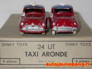 les deux calandres de taxi