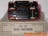 variantes de chassis sur l'Aronde taxi