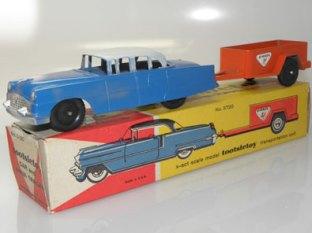 Tootsietoys Packard et remorque Uhaul