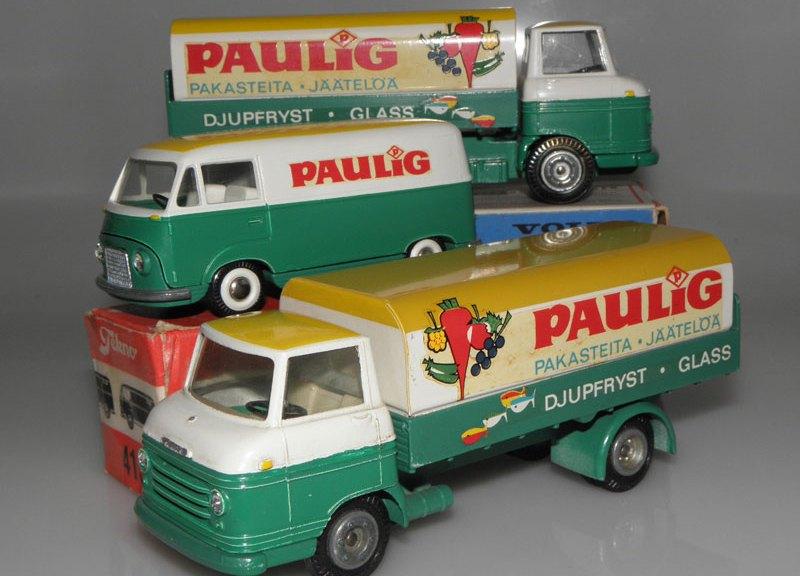 Tekno Ford Taunus et Volvo Express Paulig