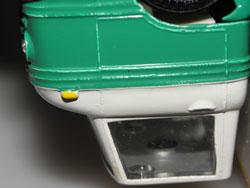 sertissage du vitrage du Volvo Express Paulig