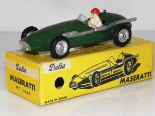 Dalia Maserati 250F britannique