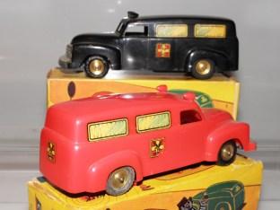 Lego Chevrolet ambulances Falck