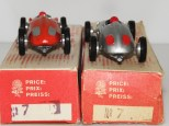 Dalia : Porsche grilles arrière peintes de couleur rouge ou argent