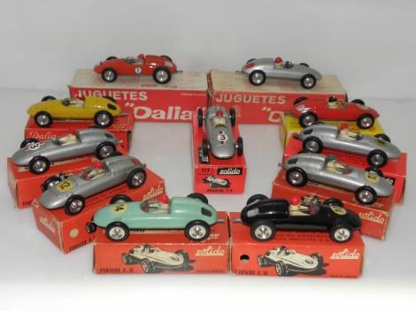Solido et Dalia Porsche F2