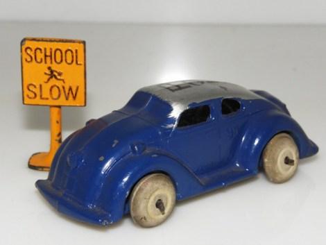 rare Best Toy auto de police