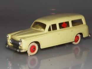 Clé luxe Peugeot 403 ambulance