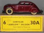 Dinky Toys Chrysler Airflow avant-guerre