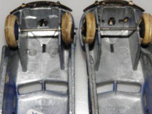 Airflow: A gauche série 30 et à droite série 32 (rare)